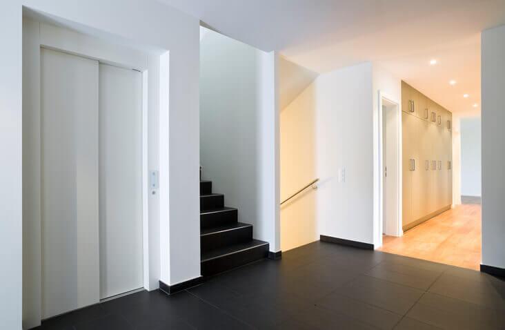 Sobrepresión escaleras