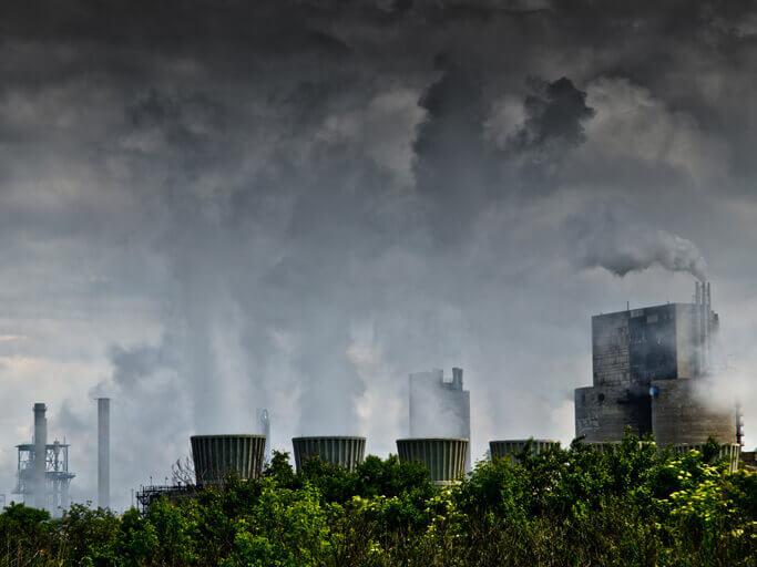 Efectos contaminación del aire