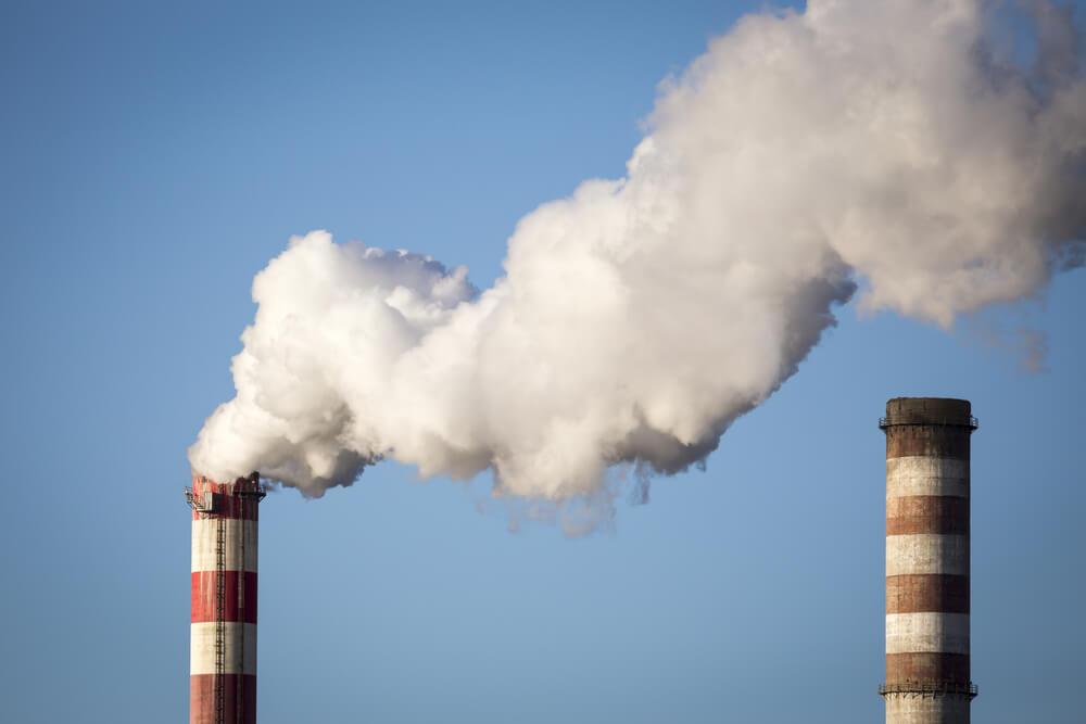 Efecto chimenea en nave industrial