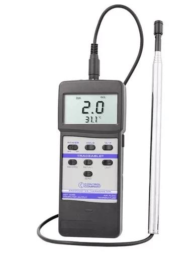 Anemómetro de hilo caliente