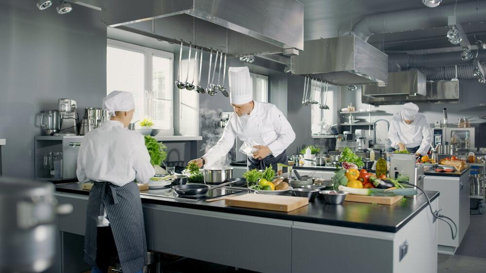 Campanas de cocina industriales