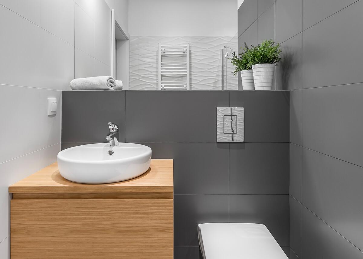 Baños pequeños ventilación